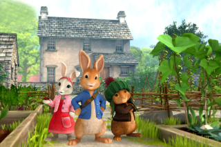 Peter Rabbit Background for Android, iPhone and iPad