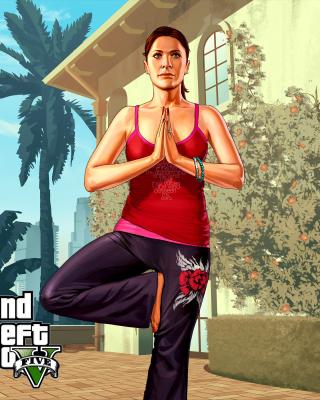 Grand Theft Auto Girl - Obrázkek zdarma pro Nokia Lumia 810