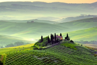 Pienza, Toscana Picture for Android, iPhone and iPad