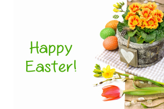 Happy Easter Background for Android, iPhone and iPad