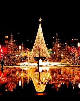 Merry Christmas Greeting Card - Obrázkek zdarma pro Nokia C2-02