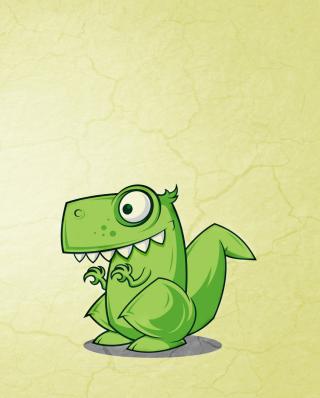 Dinosaur Illustration - Obrázkek zdarma pro Nokia Asha 202