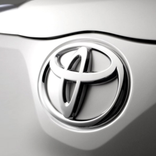 Toyota Emblem - Obrázkek zdarma pro 320x320