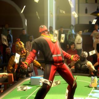 Deadpool from Marvel Comics - Obrázkek zdarma pro iPad 3