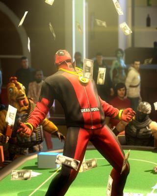 Deadpool from Marvel Comics - Obrázkek zdarma pro Nokia Asha 305