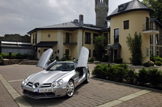 Free Mercedes Benz Slr Mclaren Roadster Picture for Android, iPhone and iPad