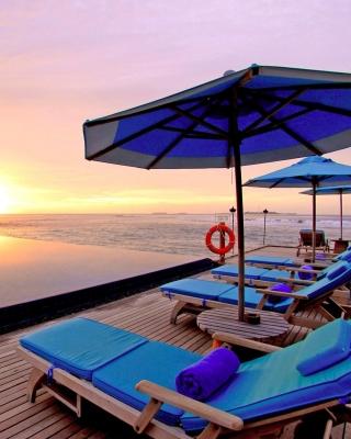 Luxury Wellness Resort in Tropics - Obrázkek zdarma pro Nokia Asha 202