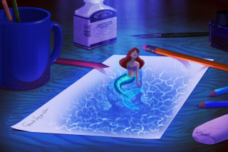 Little Mermaid Wallpaper for Android, iPhone and iPad