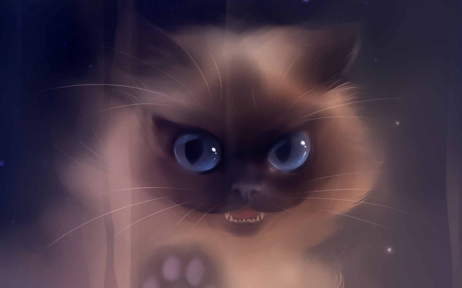 Bad kitty painting fondos de pantalla gratis para for Imagenes full hd para fondo de pantalla
