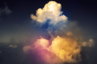 Rainbow Clouds Wallpaper for Android, iPhone and iPad