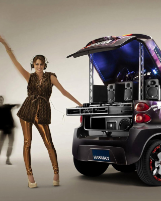 Music Smart Car - Obrázkek zdarma pro Nokia Asha 203