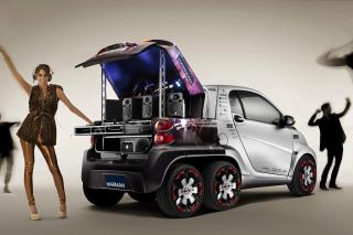 Music Smart Car - Obrázkek zdarma pro Samsung B7510 Galaxy Pro