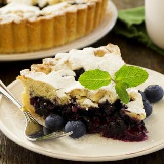 Classic Blueberry Pie - Obrázkek zdarma pro iPad 3