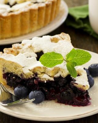 Classic Blueberry Pie - Obrázkek zdarma pro 352x416