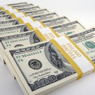 USA Dollars - Obrázkek zdarma pro 1024x1024