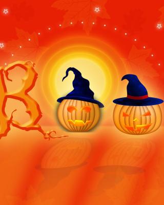 Halloween Pumpkins - Obrázkek zdarma pro Nokia 206 Asha