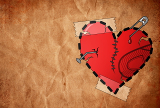 Broken Heart Wallpaper for Android, iPhone and iPad