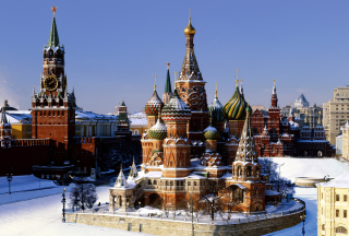 Kremlin Moscow Picture for Android, iPhone and iPad