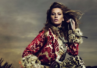 Gisele Bundchen Wallpaper for Android, iPhone and iPad