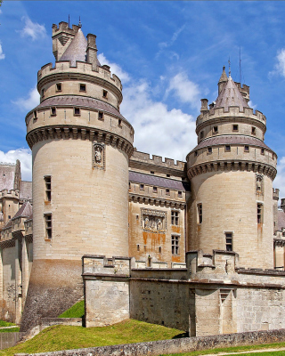 Chateau de Pierrefonds in France - Obrázkek zdarma pro Nokia C2-00