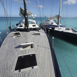 Sailing Boat in Croatia - Obrázkek zdarma pro iPad 3