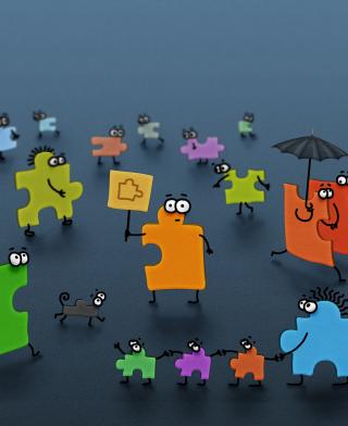 Funny Puzzle - Obrázkek zdarma pro Nokia X2-02