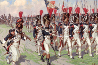 Napoleonic Wars Old Guard Background for Android, iPhone and iPad