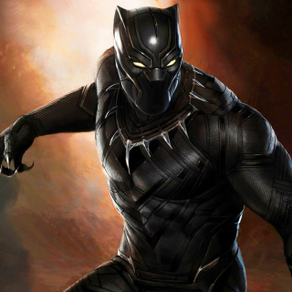 Black Panther 2016 Movie - Obrázkek zdarma pro iPad