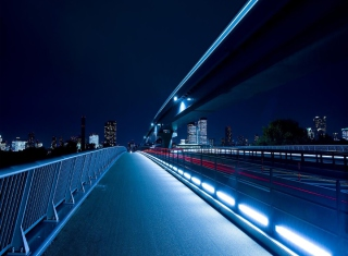 Bridge In Tokyo Wallpaper for Android, iPhone and iPad