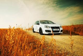 Volkswagen Golf - Obrázkek zdarma pro LG Optimus M