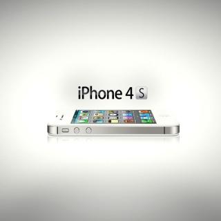 Iphone 4s - Obrázkek zdarma pro iPad 2
