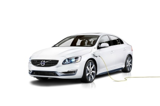 Volvo S60L Plug In Hybrid Concept Background for Android, iPhone and iPad
