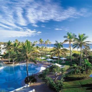 Resort on Ocean Bay - Obrázkek zdarma pro 1024x1024