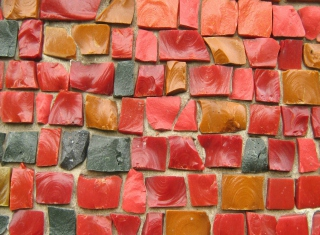 Colorful Bricks Wallpaper for Android, iPhone and iPad