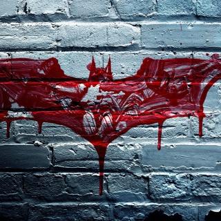 Dark Knight Logo - Obrázkek zdarma pro 208x208
