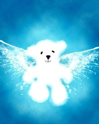 Angel Bear - Obrázkek zdarma pro iPhone 4S