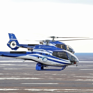 Hudson Bay Helicopters - Obrázkek zdarma pro iPad