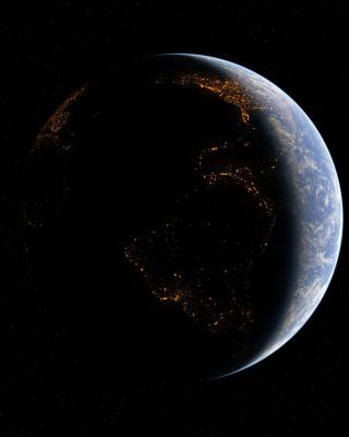 Space Atmosphere - Obrázkek zdarma pro 132x176