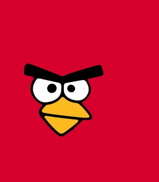 Red Angry Bird - Obrázkek zdarma pro Nokia X2