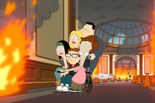American Dad Background for Android, iPhone and iPad