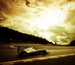 Mercedes GP F1 - Obrázkek zdarma pro 208x208