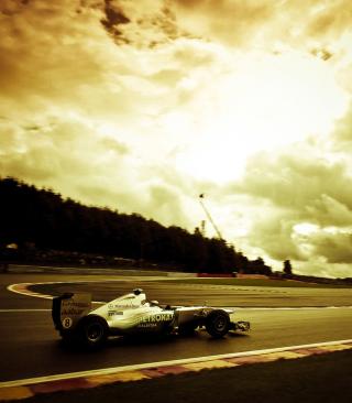 Mercedes GP F1 - Obrázkek zdarma pro Nokia Asha 203
