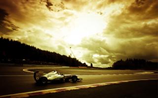 Mercedes GP F1 - Obrázkek zdarma pro HTC EVO 4G