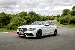 Free Mercedes Benz C63 AMG Picture for Android, iPhone and iPad