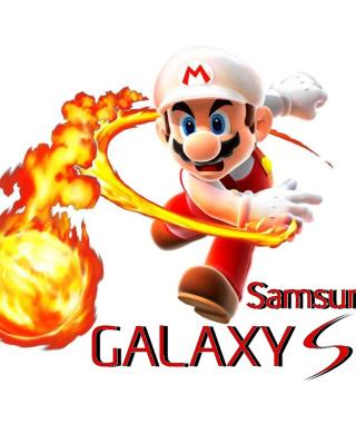 Mario Fire Game - Obrázkek zdarma pro Nokia Asha 308