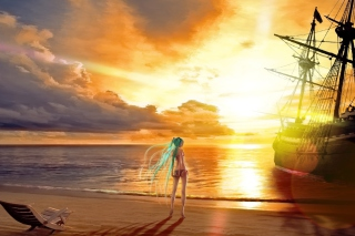 Vocaloid Wallpaper for Android, iPhone and iPad