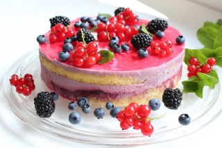 Free Cranberry Cake Picture for Android, iPhone and iPad