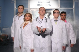 Interns Russian TV Series Picture for Android, iPhone and iPad