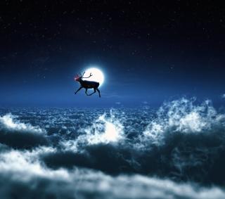 Santa's Reindeer - Obrázkek zdarma pro 2048x2048