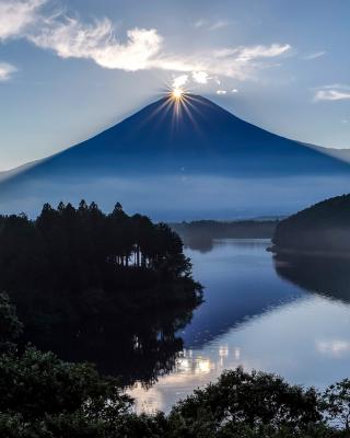 Japan, Volcano Fuji - Obrázkek zdarma pro Nokia Asha 501